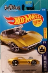 2017 Hot Wheels #99 HW Screen TIme 3of10 '68 Corvette Gas Monkey Garage Gold