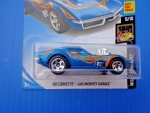 2017 Hot Wheels #99 HW Screen TIme 3of10 '68 Corvette Gas Monkey Garage Blue