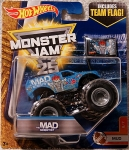 '17 Hot Wheels *Monster Jam* ~The MAD SCIENTIST~ MUD 6/7 1:64 w/ TEAM FLAG