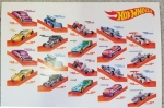 Hot Wheels US Postage Stamps 20 Forever Stamps