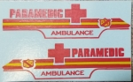 Paramedic Super Van decals