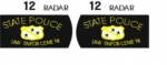 Old 442 Police Decal Set - Now available in Water Slide or Vinyl