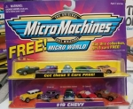 MicroMachines #19 Chevy 5 free cars
