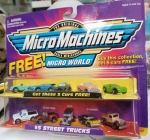MicroMachines #5 Street Trucks Plus 5 free cars.