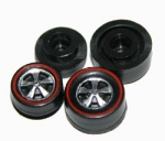 Redline Wheels Deep Dish  Flat Chrome (choose 4)