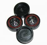 Redline Wheels CAP/SNAP-ON   (Choose Size)