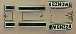 **NEW** Chevy Monza  Waterslide Decal