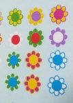 Hippie Flowers Decal
