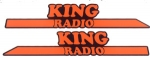 King Radio Super Van decal