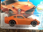 HOT WHEELS 2017-174 FACTORY FRESH CUSTOM DATSUN 240Z 3/10 MC/5 ORANGE