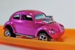 Hot Pink Hot Wheels Redline Custom VW no Sun Roof With Certificate of Auth.