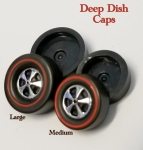 Deep Dish Cap Wheels  (choose size)